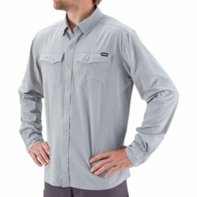 エヌアールエス NRS メンズ シャツ トップス Guide Long - Sleeve Shirt Quarry