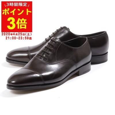 JOHN LOBB ジョンロブ CITY 2 MUSEUM CALF 008181L LAST 7000 E シティ2 レザーシューズ ドレスシューズ 革靴 ビジネス DARK-BROWN 靴 メンズ