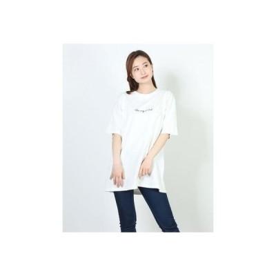 リッカファム RIKKA FEMME RIKKA FEMME/リッカファム Tシャツ R21SS202 (ホワイト)