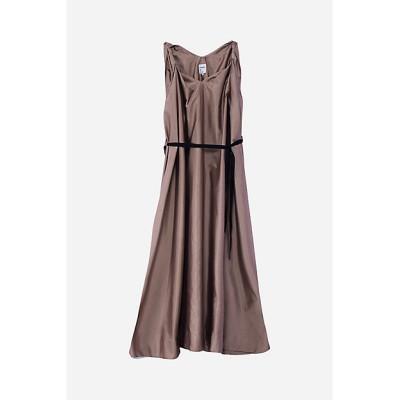 <robelite & CO.(Women)/ローベリイテアンドシーオー> BARATHEA-CHMBRAY Dress 042CAMEL【三越伊勢丹/公式】