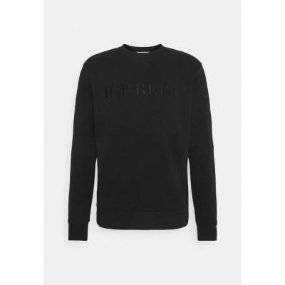アイスバーグ パーカー・スウェットシャツ メンズ アウター FELPA - Sweatshirt - nero