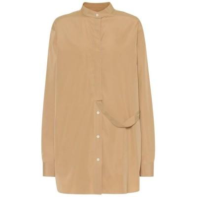 ジル サンダー Jil Sander レディース ブラウス・シャツ トップス Cotton shirt Light Beige