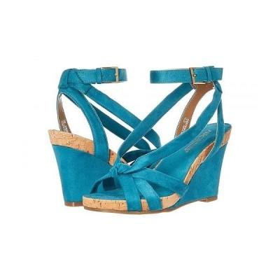 Aerosoles エアロソールズ レディース 女性用 シューズ 靴 ヒール Fashion Plush - Teal Fabric
