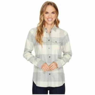 フェールラーベン ブラウス・シャツ Canada Shirt Fog/Chalk White