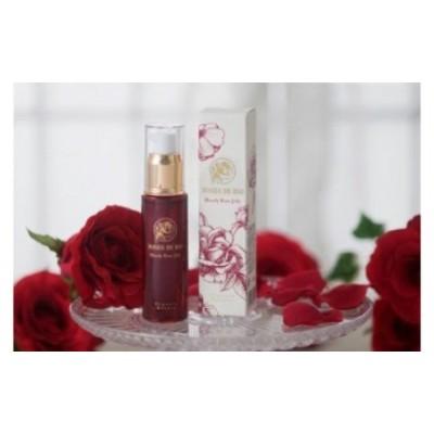 C066 【ローズドビオ】ブラッディーローズジェリー(美容液)と薔薇のお茶、ローズシロップセット