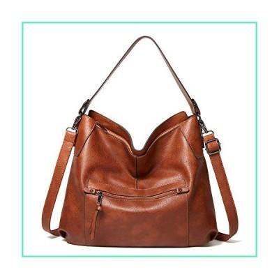Shoulder bags for Womens Satchel Hobo Bags Top Handle Tote Designer Purse Crossbody Bag Bucket (Fashion Brown)並行輸入品