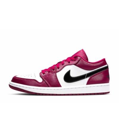 ナイキ エアジョーダン1 ロー ノーブルレッド 27.5cm Nike Air Jordan 1 Low Noble Red 553558-604 安心の本物鑑定