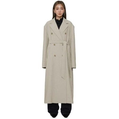 somedayif レディース コート Manish oversized double long coat