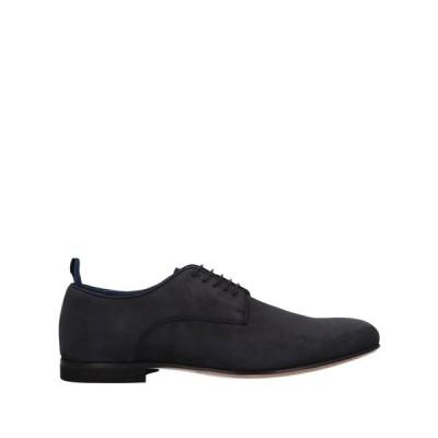 アルベルト ガルディアーニ ALBERTO GUARDIANI メンズ シューズ・靴 laced shoes Steel grey