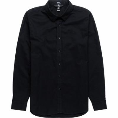 ボルコム メンズ シャツ トップス Oxford Stretch Shirt - Men's New Black