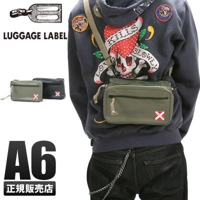 吉田カバン ラゲッジレーベル ライナー ショルダーバッグ メンズ レディース 赤バッテン A6 LUGGAGE LABEL 951-09242
