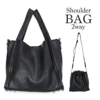 ショルダーバッグ レディース 大人 かばん 鞄 カバン A4バッグ ブラック 黒 カジュアル ハンドバッグ 仕事 オフィス 通勤バッグ 通学 バッグ