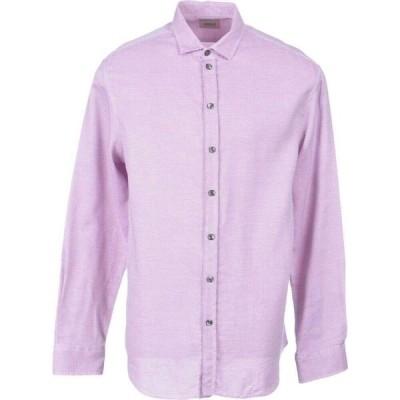 アルマーニ ARMANI COLLEZIONI メンズ シャツ トップス Patterned Shirt Red