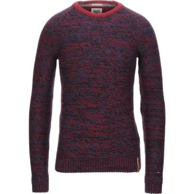 トミー ジーンズ TOMMY JEANS メンズ ニット・セーター トップス sweater Red