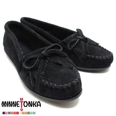 Minnetonka/ミネトンカ 正規品 モカシン KILTY/キルティー BLACK 400 Minnetonka/ミネトンカ 正規品/レディース/正規品/シリアル