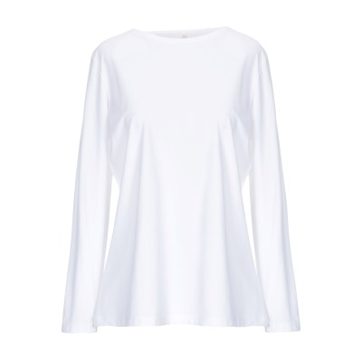 ALGEBRICA T シャツ ホワイト M ナイロン 73% / ポリウレタン 27% T シャツ