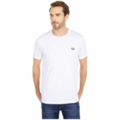 フレッドペリー メンズ シャツ トップス Ringer T-Shirt White