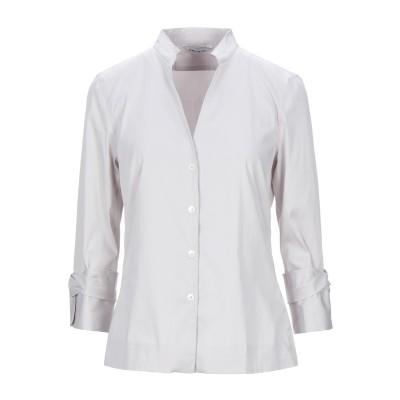 カリバン CALIBAN シャツ ライトグレー 42 コットン 70% / ナイロン 27% / ポリウレタン 3% シャツ