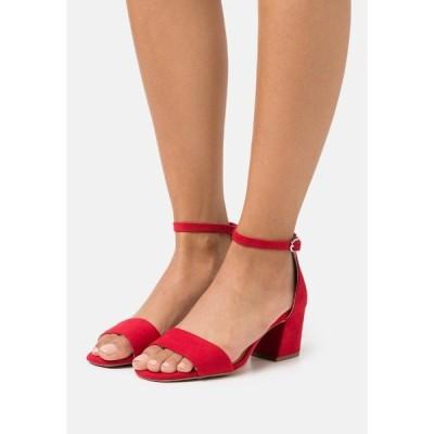 エスオリバー サンダル レディース シューズ Sandals - red