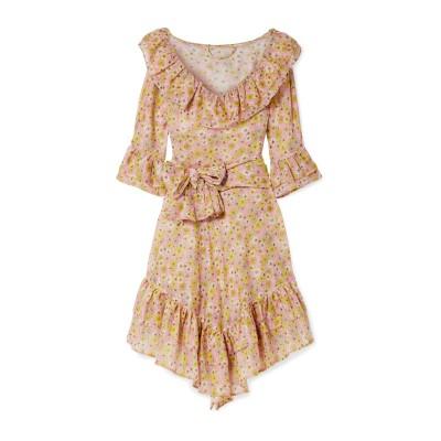 リサ・マリー・フェルナンデス LISA MARIE FERNANDEZ ミニワンピース&ドレス ピンク 3 コットン 100% ミニワンピース&ドレス