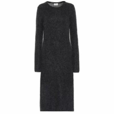 アクネ ストゥディオズ Acne Studios レディース ワンピース ワンピース・ドレス Wool and mohair-blend dress Charcoal Melange