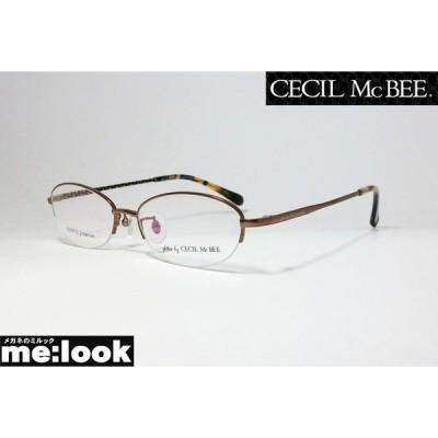 glitter by CECIL McBEE グリッターバイセシルマクビー レディース 眼鏡 メガネ フレーム GCF3508-2-51 度付可 ブラウン
