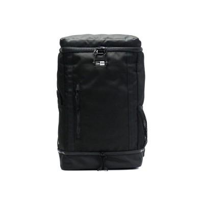 【ギャレリア】 ニューエラ リュック 通学 NEW ERA リュックサック Box Pack ボックスパック バックパック 大容量 B4 A4 32L ユニセックス ブラック F GALLERIA