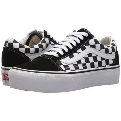 バンズ Old Skool Platform メンズ スニーカー 靴 シューズ (Checkerboard) Black/True White