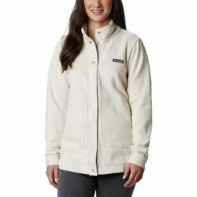 コロンビア Columbia レディース ジャケット シャツジャケット アウター Hart Mountain(TM) Shirt Jacket Chalk