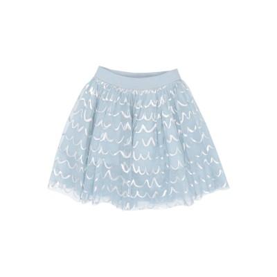 ステラ マッカートニー キッズ STELLA McCARTNEY KIDS スカート スカイブルー 3 リサイクルポリエステル 100% スカート