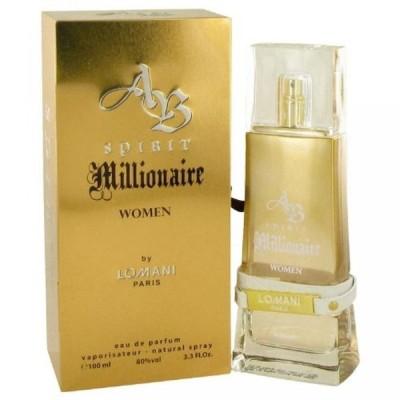 コスメ 香水 女性用 ケルン  Spirit Millionaire by Lomani Women's Eau De Parfum Spray 3.3 oz - 100% Authentic 送料無料