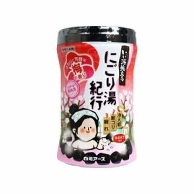 いい湯旅立ち ボトル にごり湯紀行 梅の香り(600g)