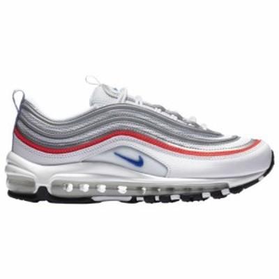 (取寄)ナイキ レディース シューズ エア マックス 97 Nike Women's Shoes Air Max 97 White Racer Blue Flash Crimson Metallic Silver