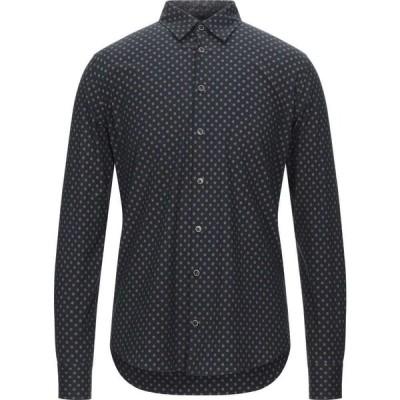 センス SSEINSE メンズ シャツ トップス patterned shirt Black