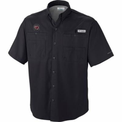 コロンビア Columbia メンズ トップス South Carolina Gamecocks Black Tamiami Performance Shirt