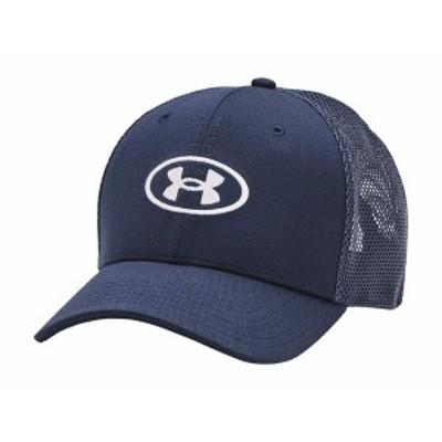 アンダーアーマー メンズ 帽子 アクセサリー Blitzing Trucker Academy/White