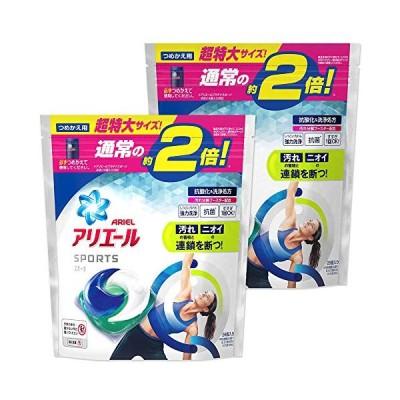 まとめ買いアリエール ジェルボール プラチナスポーツ 洗濯洗剤 詰め替え 超特大 26個入×2個