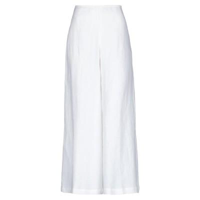 STEFANO MORTARI パンツ ホワイト 42 リネン 100% パンツ