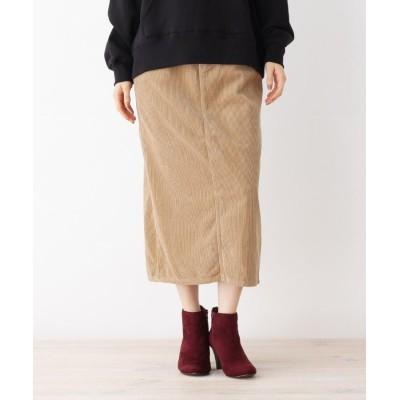 grove(グローブ) Lee コーデュロイロングタイトスカート