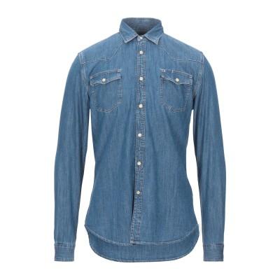 ハイドロゲン HYDROGEN デニムシャツ ブルー XS コットン 100% デニムシャツ