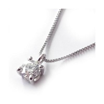 プラチナ900良質天然ダイヤモンド0.1カラットプチネックレスペンダント【ギフトラッピング済み】/送料無料/4月誕生石ダイヤ