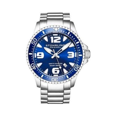 ストゥーリングオリジナル/Stuhrling Original/腕時計/Aquadiver/Regatta 842/842.01/メンズ/スイスメイドクォーツ/ブルー