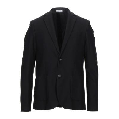 OFFICINA 36 テーラードジャケット ブラック 50 コットン 100% テーラードジャケット