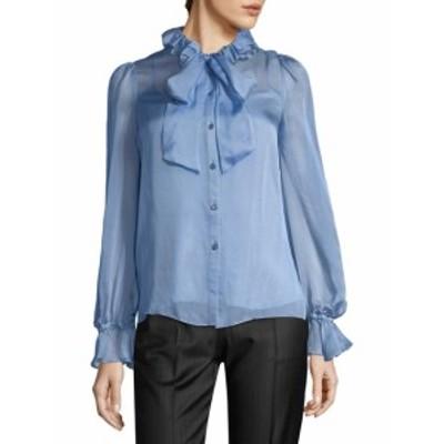 テンパーリーロンドン レディース トップス シャツ Costume Silk Blouse