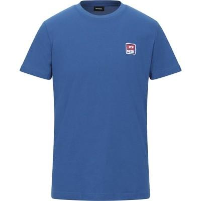 ディーゼル DIESEL メンズ Tシャツ トップス T-Shirt Blue