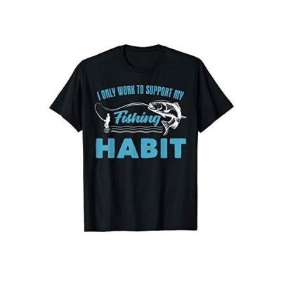 釣り引用ギフトメンズ釣り Tシャツ