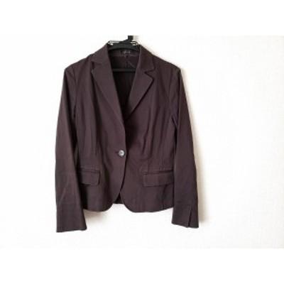 リフレクト ReFLEcT ジャケット サイズ9 M レディース ダークブラウン【中古】