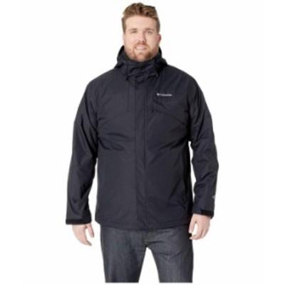 コロンビア メンズ コート アウター Big & Tall Bugaboo II Fleece Interchange Jacket Black/Charcoal Heather