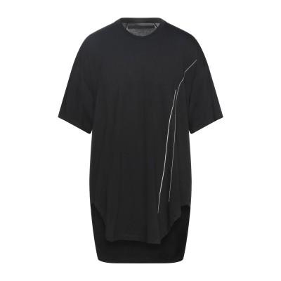 ユリウス _JULIUS T シャツ ブラック 1 コットン 50% / レーヨン 50% T シャツ