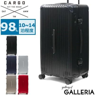 最大15%獲得 正規品2年保証 カーゴ スーツケース CARGO Lサイズ キャリーケース AiR SPORTS エアースポーツ 98L 大容量 トリオ TRIO TSA CAT88SSR